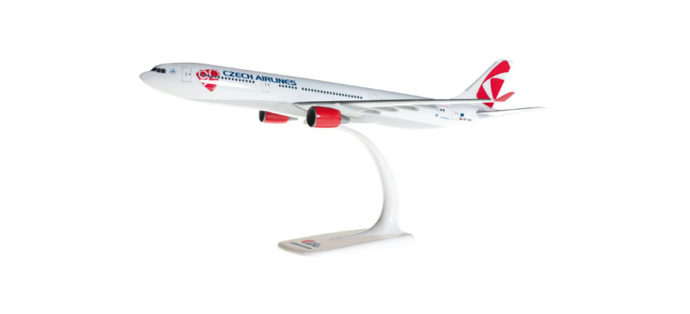 Herpa 609845-001 Airbus A330-300 CSA Czech Airlines