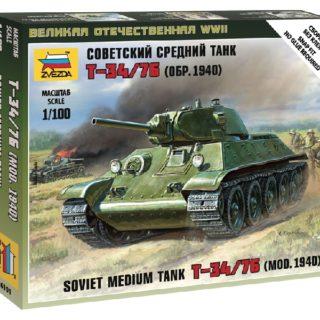 ZVEZDA 6101 Soviet Tank T-34