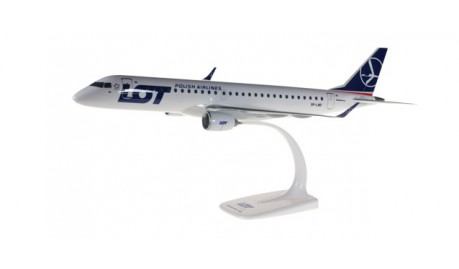Herpa 610605 Embraer E195-SP-LND LOT Polish Airlines
