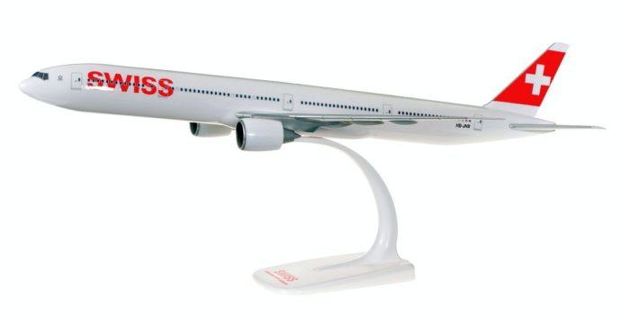 "Herpa 610698-001 Boeing 737-2300ER Swiss Inernational  London"""