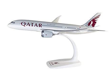 Herpa 610896 Boeing 787-8 Dremliner Qatar