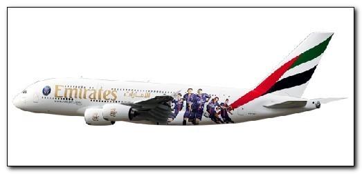 "Herpa 611152 Airbus A380 Emirates ""Paris St. Germains"""