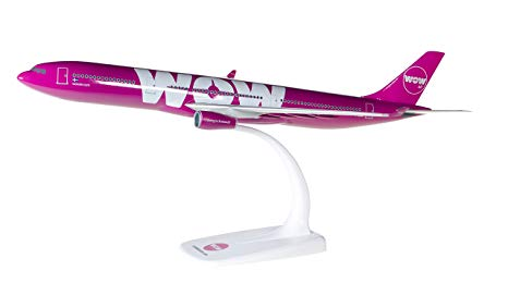 Herpa 611282 Airbus A330-300  Wow Air