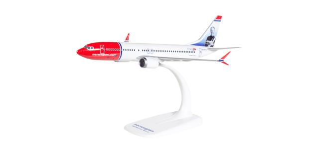 Herpa 611817 Boeing 737 MAX 8 Norvegian Air Shuttle