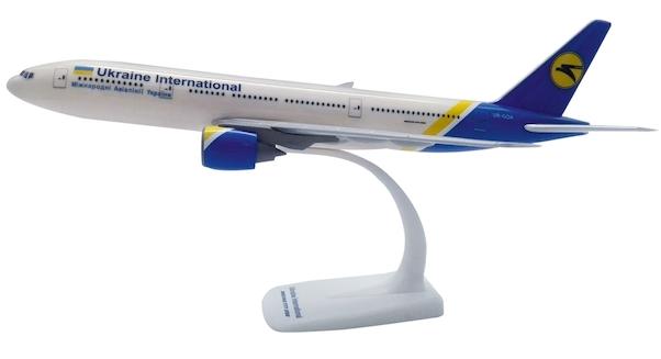 Herpa 611992 Boeing 777-200 Ukraine Airlines