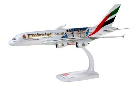 """Herpa 612142 Airbus A380 Emirates """"Real Madrid 2018"""