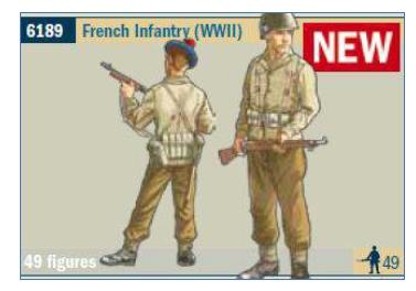 ITALERI 6189 WWII - Free French Infantry