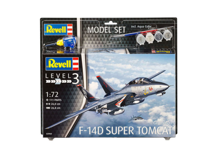 Revell 63950 Model Set F-14D Super Tomcat
