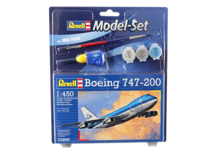 Revell 63999 Model Set Boeing 747-200