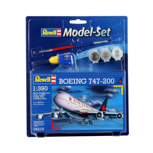 Revell 64210 Model Set Boeing 747-200