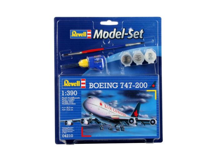 Revell 64210 Model Set Boeing 747-200