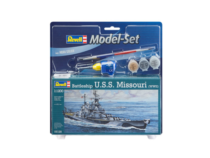 Revell 65128 Model Set Battleship U.S.S. Missouri (WWI