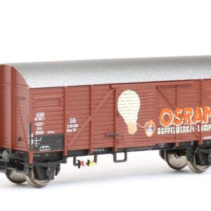 """Brawa 67314 Carro merci Gms 35 """"Osram"""" delle DB"""