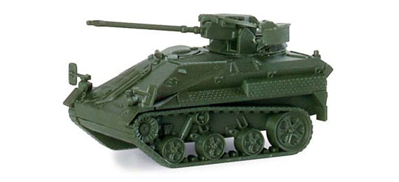 Herpa 741156 Wiesel 1+2cm MK BW  (00711)