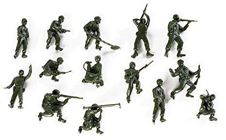Herpa 741194 14 soldati BW/US  (0117)