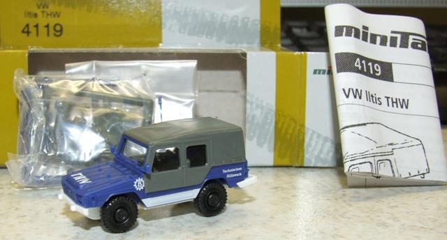 """Herpa 741958 VW-Illtis """"T H W"""""""