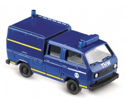 "Herpa 741972 VW T3 DOKA ""THW"""
