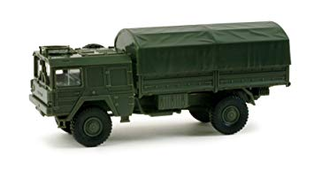 Herpa 742016 LKW 5t 4x4 Canvas truck BW