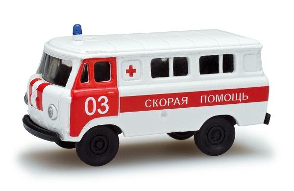 Herpa 743808 UAZ 452 Croce Rossa