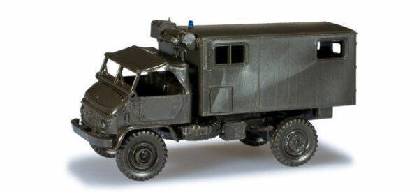 Herpa 743907 UNIMOG S404 camion ambulanza