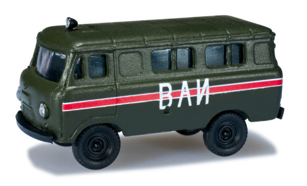 "Herpa 744072 UAZ 452 VAI ""DDR"""