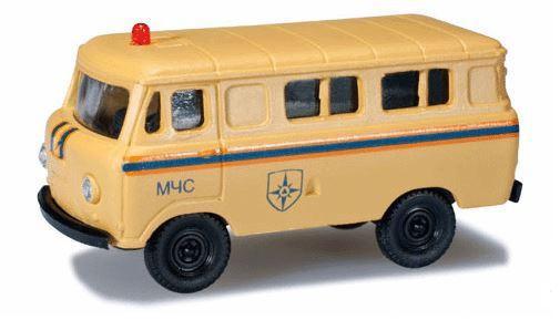 """Herpa 744140 UAZ 452 """"MCHS"""""""