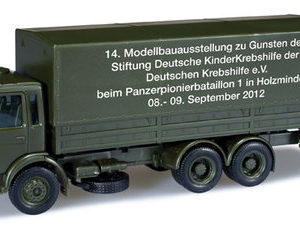Herpa 744317 MAN 10 t canvas truck