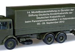 Herpa 744317 MAN 10 t canvas truck