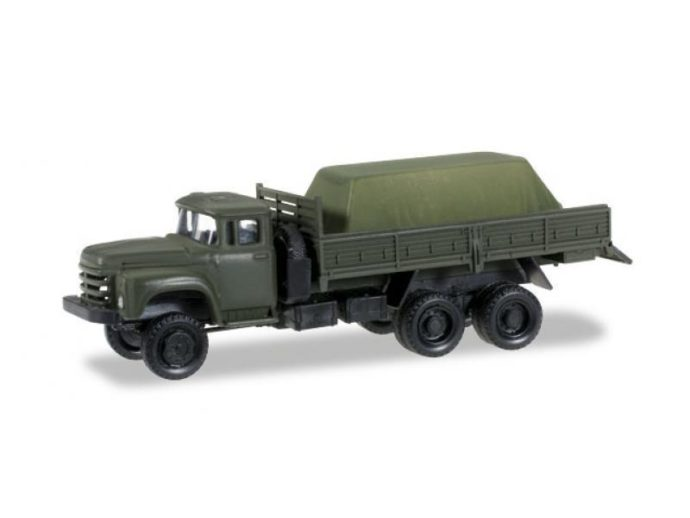 Herpa 745260 ZIL 133 Gya camion pick-up con carico  sotto  telone