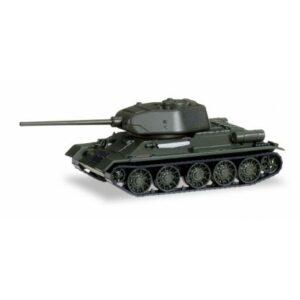 Herpa 745543 Tank T 34 - 85 con D-5 Cannon