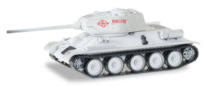 "Herpa 745796 T-34/85  Carro armato ""Leningrado"" invernale"