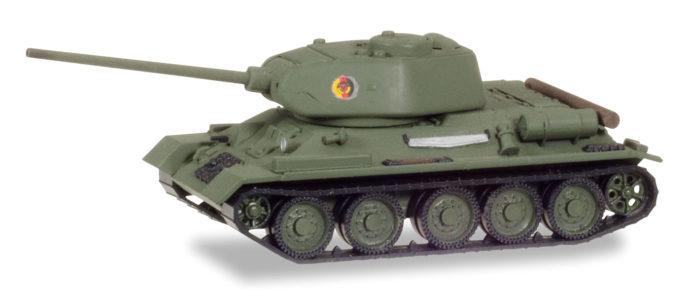 """Herpa 745888 Kampfpanzer T-34/85 """"NVA"""""""