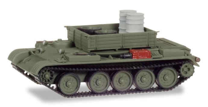 Herpa 745895 Werktattpanzer T-54 con carico