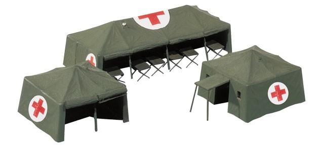 Herpa 746021 Tende sanitarie militari