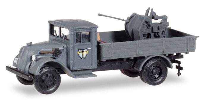 Herpa 746090 Ford G 198 TS con mitragliatore