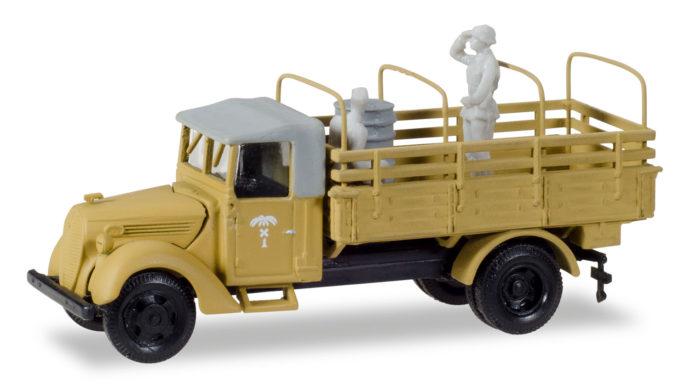 "Herpa 746205 Ford 3000 ricambi armata ""Africa korps"""