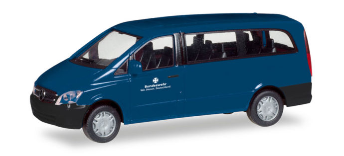 "Herpa 746267 Merceds Benz Vito bus ""Bundeswehr"""