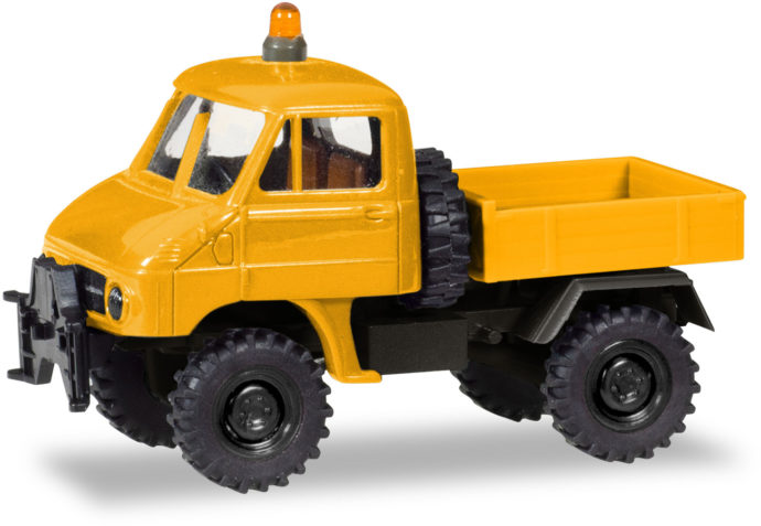 "Herpa 746502 Unimog U 411  ""US Air Force Berlin"""""