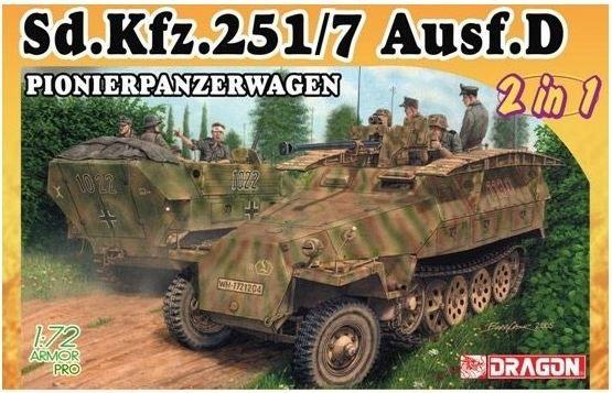 Dragon 7605 Sd. Kfz: 251/7 Ausf.D