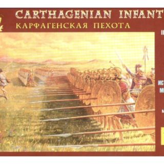 ZVEZDA 8010 Carthaginian Infantry