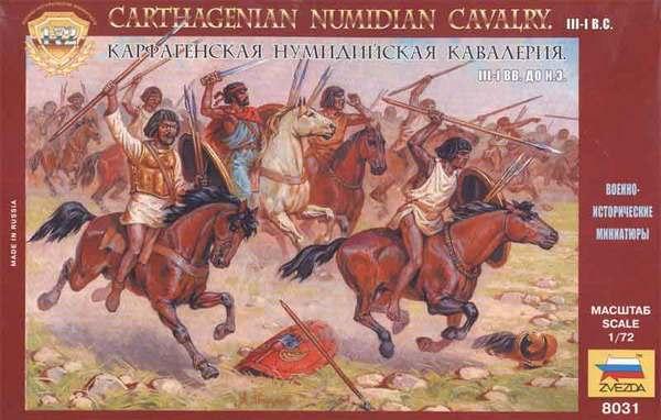ZVEZDA 8031 Carthaginian Cavalry