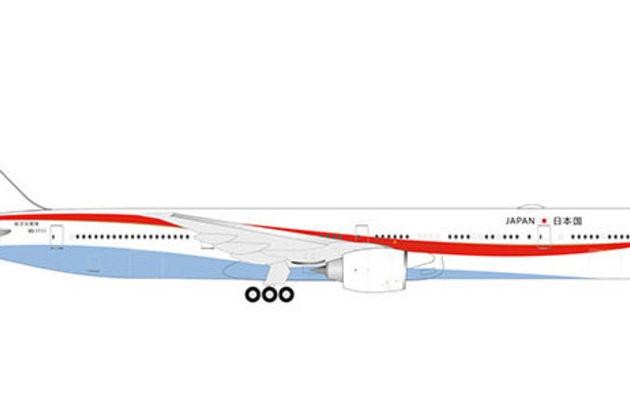 Herpa 532778 BOEING 777-300ER JAPAN AIR DEFANCE