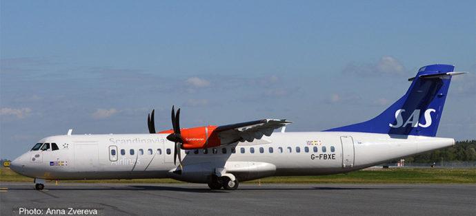 Herpa 533034 ATR-72-600 SAS SCANINAVIAN AIRLINES