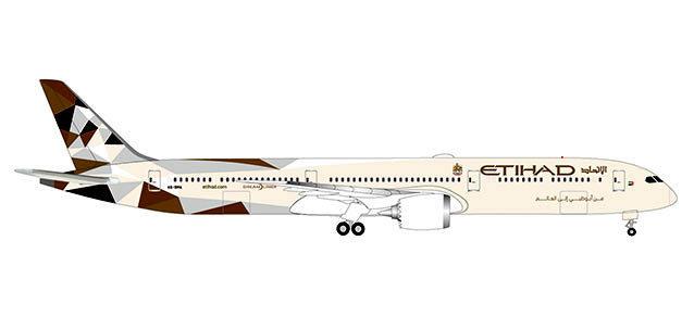 Herpa 533119 BOEING 787-10 DREAMLINER ETHIAD AIRWAYS