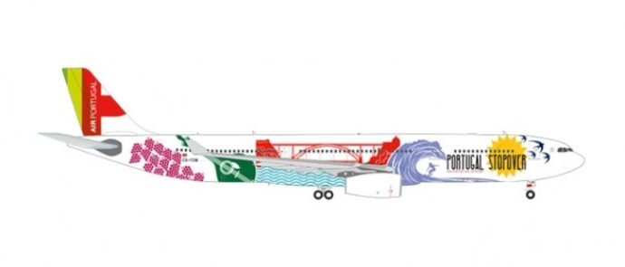 Herpa 558945 AIRBUS A330-300 TAP PORTUGAL