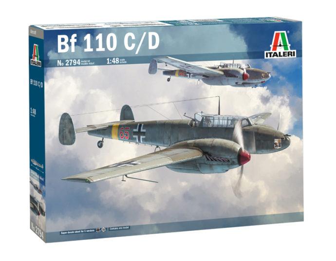 ITALERI 2794 Messerschmitt Bf 110 C/D