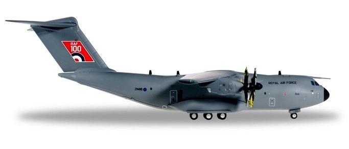 "Herpa 559447 Airbus A400M Atla C 1 Royal ""RAF 100"""