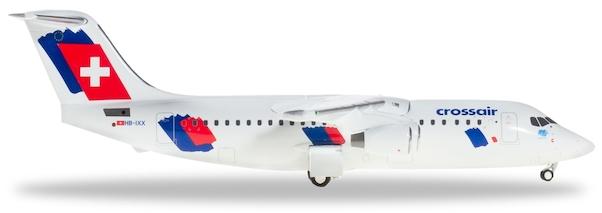 Herpa 559638 Crossair Avro RJ100 Jumbolino