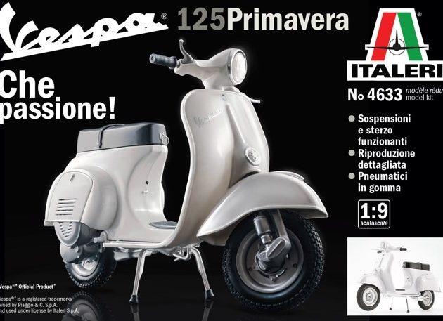 ITALERI 4633 VESPA 125 PRIMAVERA