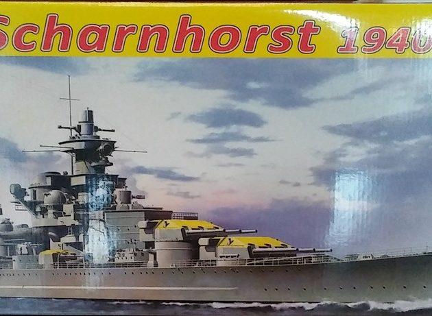 Dragon 1062 German Battleship Scharnhorst 1940